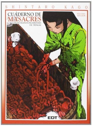 9788499477756: Cuaderno De Masacres 2. Los Extraños Incidentes De Tengai (Seinen Manga (glenat))