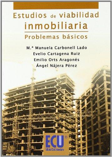 9788499483375: Estudios de Viabilidad Inmobiliaria. Problemas Básicos