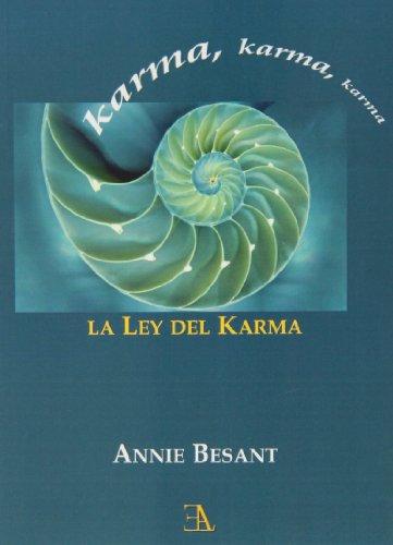 9788499501161: Karma, la ley del karma