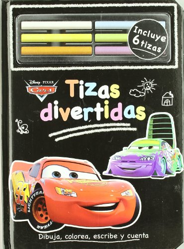 9788499510859: Tizas divertidas Cars (+tizas) (Cars Ii (disney))