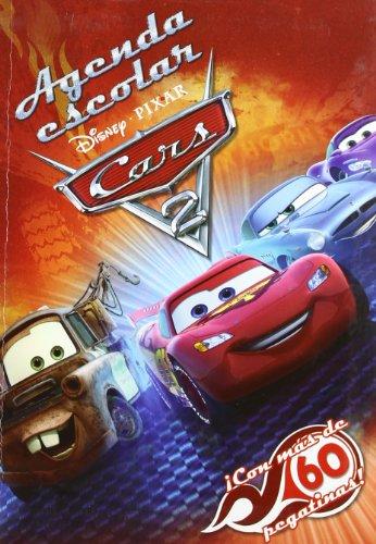 9788499512488: AGENDA ESCOLAR CARS 2 2011/2012