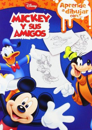 9788499513010: Aprende a dibujar con... mickey y sus amigos