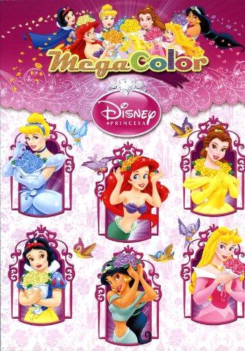 9788499513256: Megacolor Princesas (Disney. Princesas)