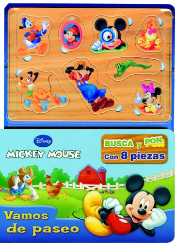 9788499513911: Mickey Mouse. Busca y pon: Vamos de paseo (Disney. Mickey)