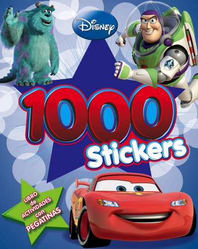 9788499513935: Pixar. Libro de actividades con 1000 pegatinas
