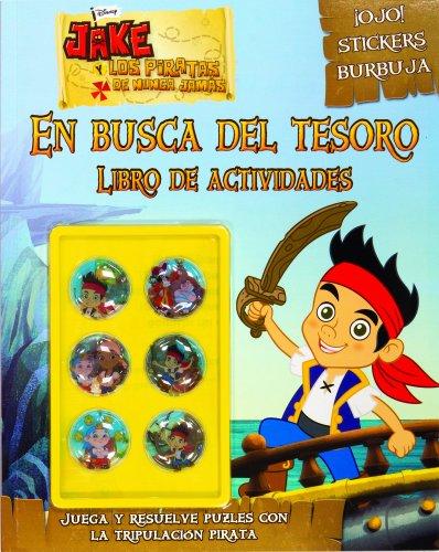 9788499513997: Jake Y Los Piratas. Actividades Con Adhesivos Especiales. En Busca Del Tesoro (Disney. Jake y los piratas)
