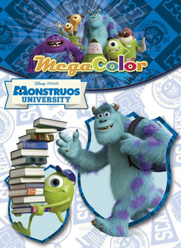 9788499514642: Monstruos University. Megacolor