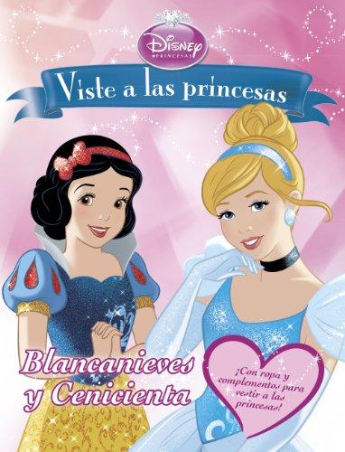 9788499515687: Viste a las princesas. Blancanieves y Cenicienta: Libro de recortables (Disney. Princesas)