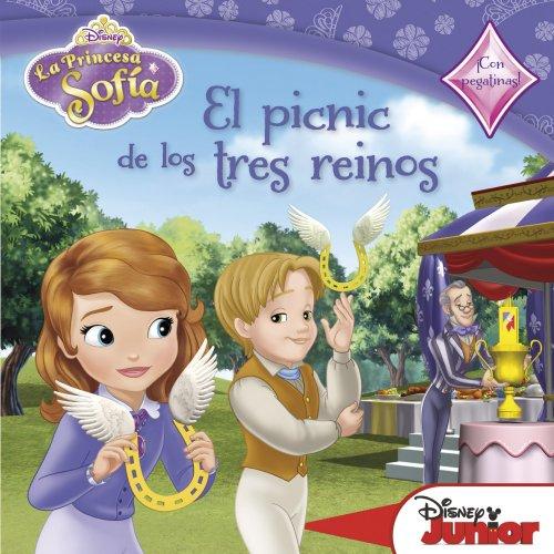9788499515779: La Princesa Sofía. El picnic de los tres reinos: Cuento con pegatinas (Disney. Princesa Sofía)