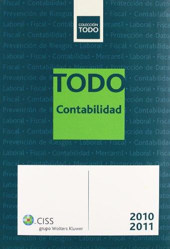 9788499541655: Todo contabilidad 2010-2011