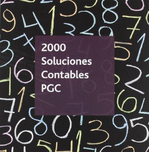 9788499544649: 2000 soluciones contables PGC 2012