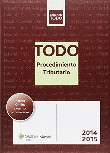 PROCEDIMIENTO TRIBUTARIO 2014-2015: Miguel Angel Fernandez-Vazquez Maeso