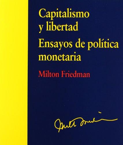 9788499589442: Capitalismo y libertad