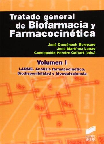 9788499589527: Tratado general de biofarmacia y farmacocinética I