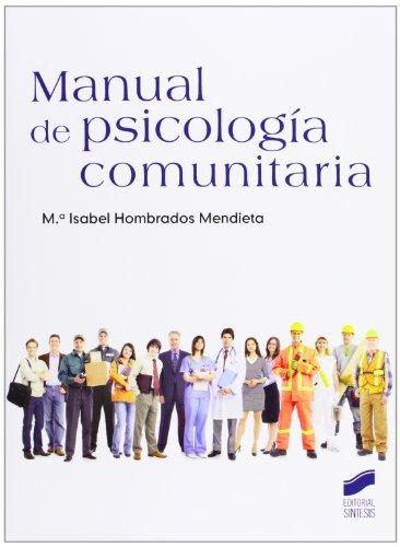 9788499589626: Manual de psicología comunitaria