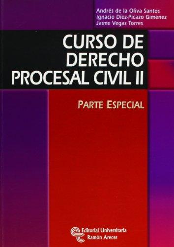 9788499610979: Curso de derecho procesal civil II