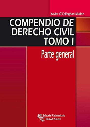 9788499610993: Compendio de Derecho Civil. Parte general: 1 (Manuales)