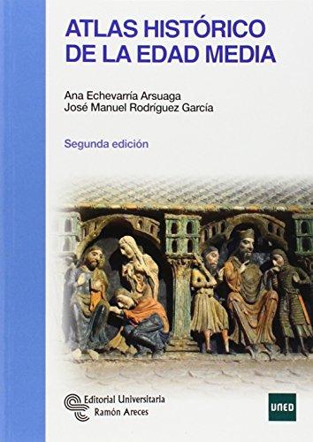 9788499611235: Atlas histórico de la Edad Media (Manuales)