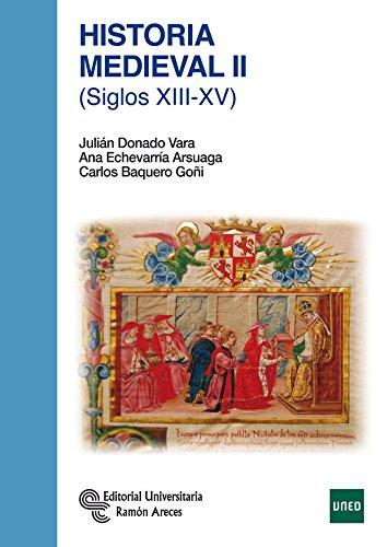 9788499611631: Historia Medieval II: (Siglos XIII-XV)