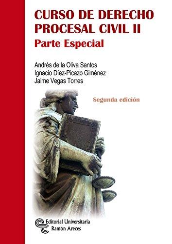 9788499611662: CURSO DE DERECHO PROCESAL CIVIL II ( PARTE ESPECIAL)
