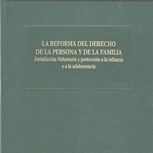 La reforma del derecho de la persona: O'Callaghan Muñoz, Xavier;
