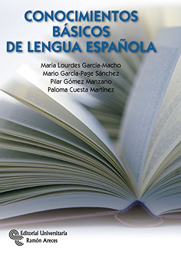 9788499612713: Conocimientos Básicos de Lengua Española (Manuales)