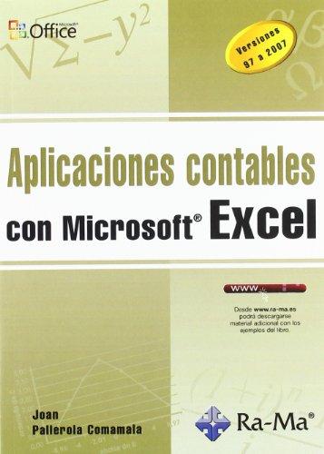 9788499640181: APLICACIONES CONTABLES CON MICROSOFT EXCEL
