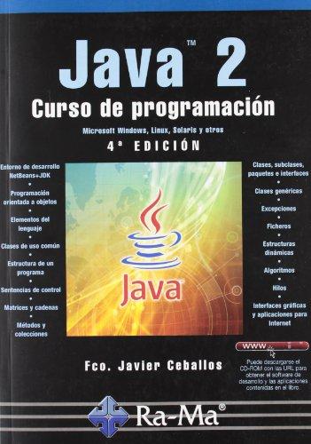 9788499640327: Java 2. Curso de Programación. 4ª Edición
