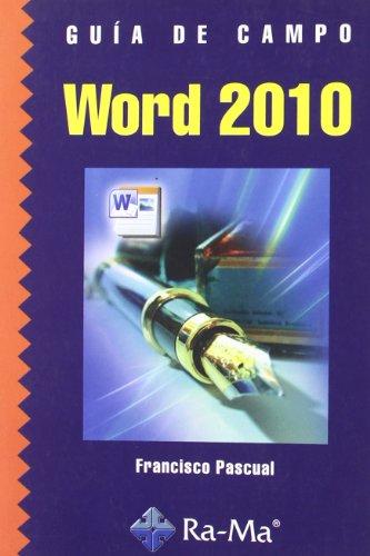 9788499640549: Guía de Campo de Word 2010