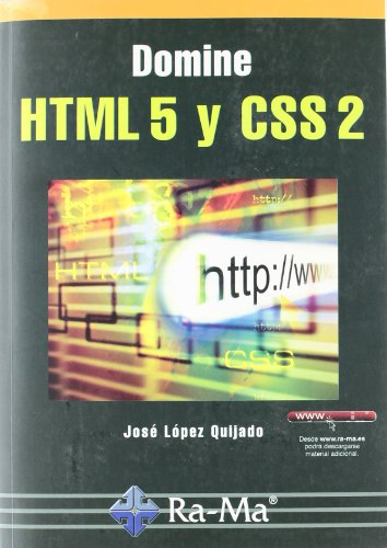 9788499640624: Domine HTML 5 y CSS 2