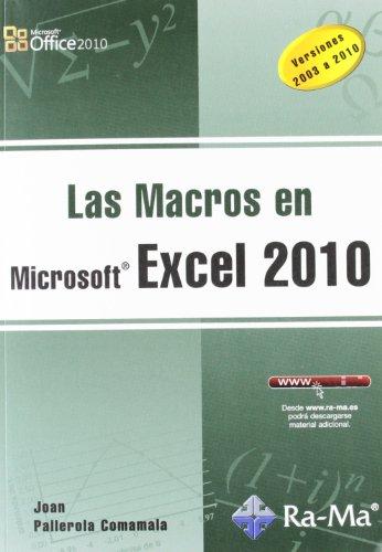 9788499641140: Las Macros en Excel 2010