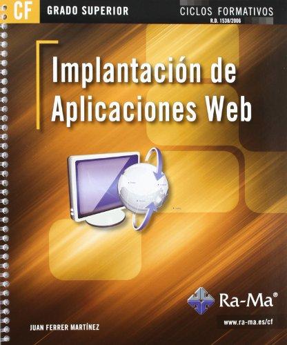 9788499641607: Implantación de aplicaciones web