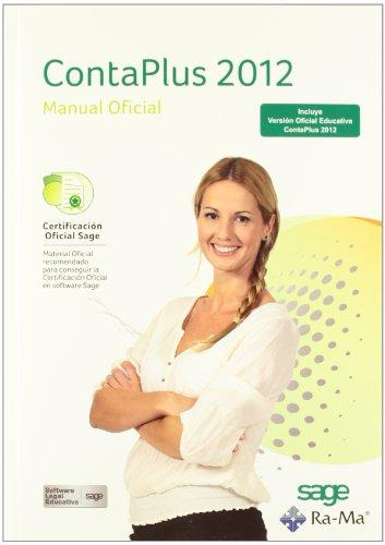 9788499641911: ContaPlus 2012. Manual Oficial