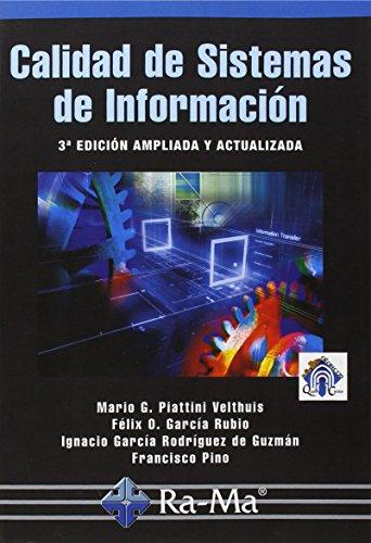 9788499645308: CALIDAD DE SISTEMAS DE INFORMACION 3ED