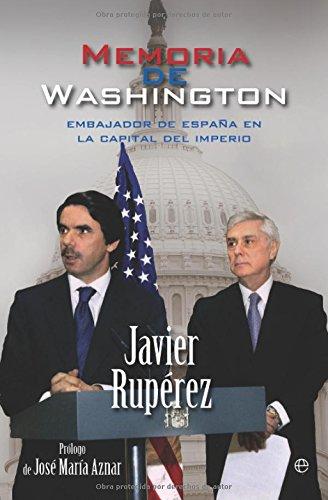 9788499700052: Memoria de Washington