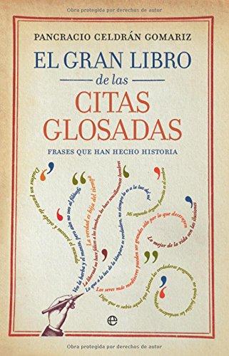 9788499700397: El gran libro de las citas glosadas