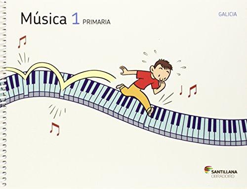 9788499720869: MUSICA 1 PRIMARIA OS CAMIÑOS DO SABER