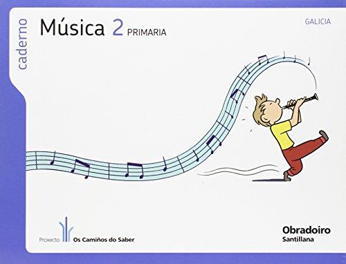 9788499720913: (G).(11).CADERNO MUSICA 2º.PRIM.(CAMIñOS SABER)