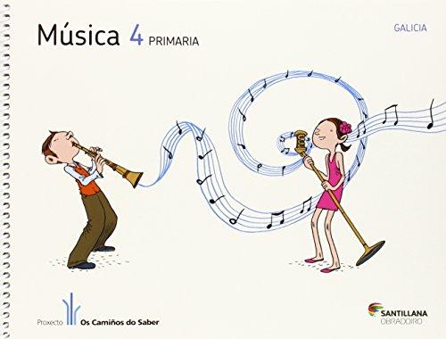 9788499721491: (G).(12).MUSICA 4º.PRIM.(CAMIñOS SABER)