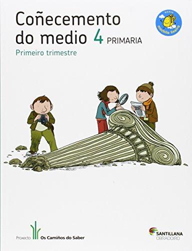 9788499721910: COÑECEMENTO DO MEDIO 4 PRIMARIA M LIXEIRA OS CAMIÑOS DO SABER - 9788499721910