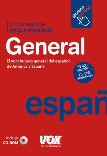 9788499740003: Dicc. General de la Lengua Española (Vox - Lengua Española - Diccionarios Generales)