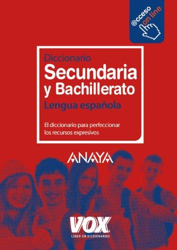 Diccionario de secundaria y bachillerato (Paperback): Varios Autores