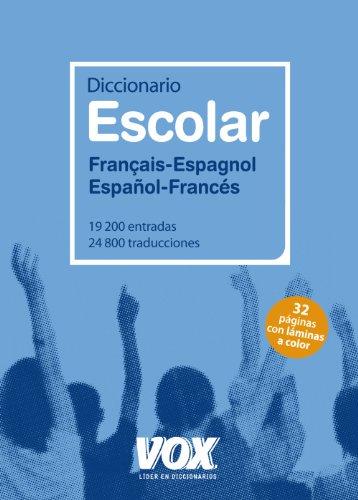 9788499740287: Diccionario Escolar Français-Espagnol / Español-Francés (Vox - Lengua Francesa - Diccionarios Escolares)