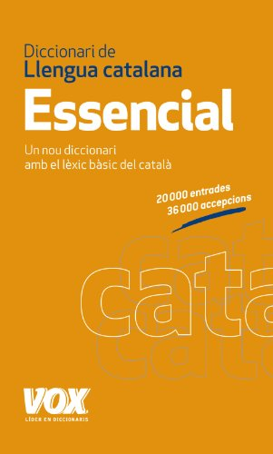 9788499740324: Diccionari Essencial de Llengua Catalana (Vox - Lengua Catalana - Diccionarios Generales)