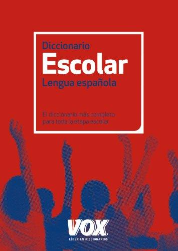 9788499740348: Diccionario Escolar de la Lengua Española (Vox - Lengua Española - Diccionarios Escolares)