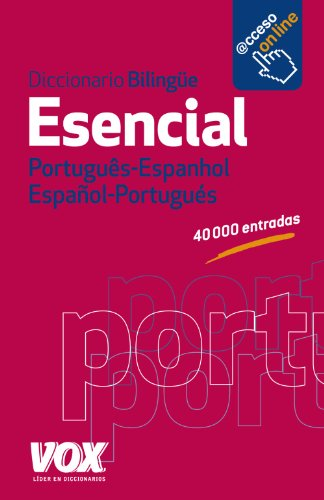 9788499740799: Diccionario esencial Portugues-Espanhol Español- Portugués / Portuguese-Spanish Essential Dictionary