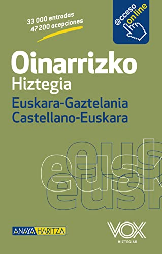 9788499741369: Oinarrizko Hiztegia Euskara-Gaztelania Castellano-Euskara / Basic Dictionary Basque-Castilian (Spanish Edition)
