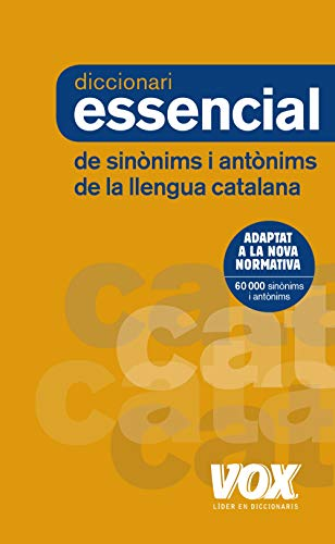9788499742373: Diccionari Essencial de Sinònims i Antònims (Vox - Lengua Catalana - Diccionarios Generales)