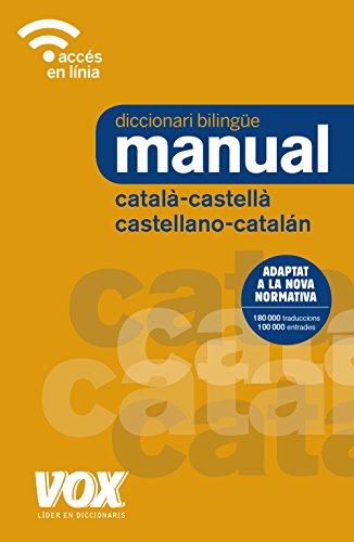9788499742731: Diccionari Manual Català-Castellà / Castellano-Catalán (Vox - Lengua Catalana - Diccionarios Generales)