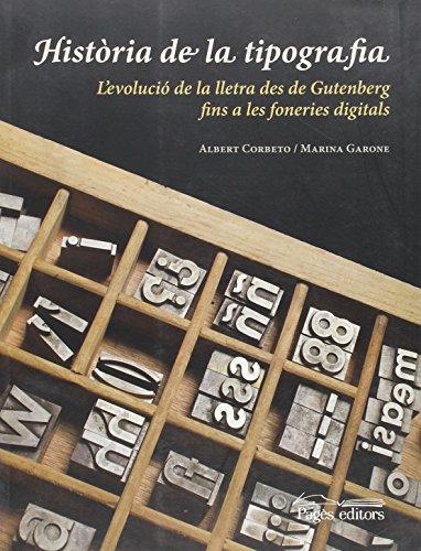 9788499751214: Història de la tipografia (Monografies)